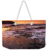 Red Tides Weekender Tote Bag