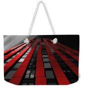 Red To The Sky Weekender Tote Bag