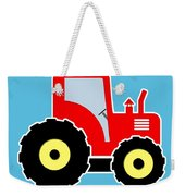 Red Toy Tractor Weekender Tote Bag