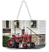 Red Tracktor Weekender Tote Bag