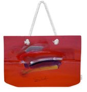 Red Trawler Weekender Tote Bag