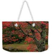 Red Tree II Weekender Tote Bag by Gary Lengyel