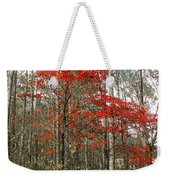 Red Tree Weekender Tote Bag