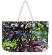 Red Trees Weekender Tote Bag