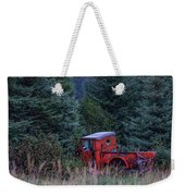 Red Truck Weekender Tote Bag