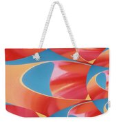Red Tubes Weekender Tote Bag