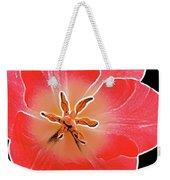 Red Tulip Weekender Tote Bag