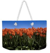 Red Tulip Garden Weekender Tote Bag