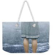 Red Umbrella Weekender Tote Bag by Joana Kruse