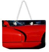 Red Viper Weekender Tote Bag