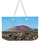 Red Volcano Weekender Tote Bag