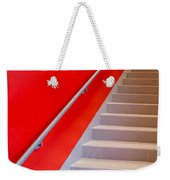 Red Walls Staircase Weekender Tote Bag