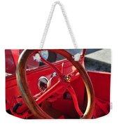 Red Wheel Weekender Tote Bag