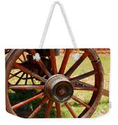 Red Wheels Weekender Tote Bag