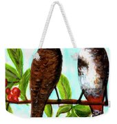 Red-whiskered Bulbul Bird, #246 Weekender Tote Bag