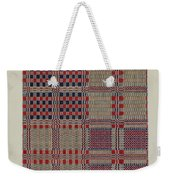Red, White & Blue Coverlet Weekender Tote Bag