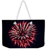 Red White And Blue Fireworks Weekender Tote Bag