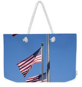 Red White Blue Weekender Tote Bag