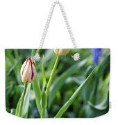 Red White Tulips Weekender Tote Bag