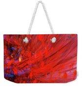 Red Wind Weekender Tote Bag