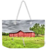 Red Wood Barn - Edna, Tx Weekender Tote Bag