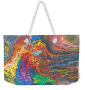 Red Yellow Blue Abstract Weekender Tote Bag