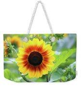 Red Yellow Sunflower Weekender Tote Bag