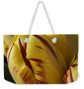 Red Yellow Tulip Weekender Tote Bag
