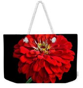 Red Zinnia Weekender Tote Bag