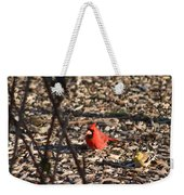 Redbird And American Golden Finch Weekender Tote Bag