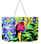 Redbird Dreaming About Why Love Is Always Important Weekender Tote Bag