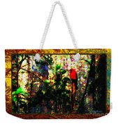 Redbird Sifting Beauty Out Of Ashes Weekender Tote Bag