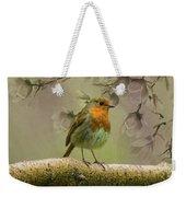 Redbreast Bird Weekender Tote Bag