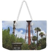 Redbrick Path To The Lighthouse Weekender Tote Bag
