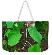 Redbud Green Weekender Tote Bag