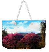 Redbud In The Blue Ridge Weekender Tote Bag