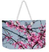 Redbud Tree Blossoms 1 Weekender Tote Bag