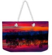 Reddening Sunset Weekender Tote Bag