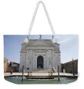 Redentore Church In Venice Weekender Tote Bag