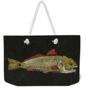 Redfish Weekender Tote Bag by Captain Warren Sellers