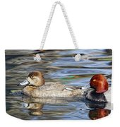 Redhead Duck Pair Weekender Tote Bag