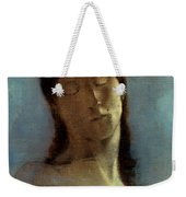 Redon: Closed Eyes, 1890 Weekender Tote Bag