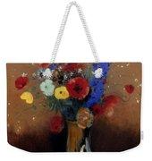 Redon: Wild Flowers, C1912 Weekender Tote Bag