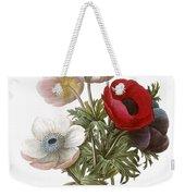 Redoute: Anemone, 1833 Weekender Tote Bag