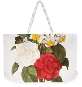 Redoute: Bouquet, 1833 Weekender Tote Bag