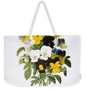 Redoute: Pansy, 1833 Weekender Tote Bag by Granger