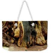 Redwood Abstract Weekender Tote Bag