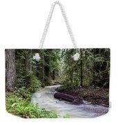 Redwood Stream Weekender Tote Bag