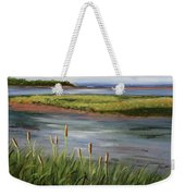 Reeds By The Water Weekender Tote Bag