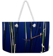 Reeds Of Reflection Weekender Tote Bag